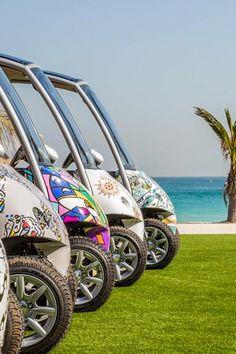 Stylish cars in Dubai