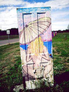 Summer of Doors-marquette, mi community art project