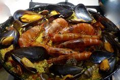 Paella di Pesce Video Ricetta