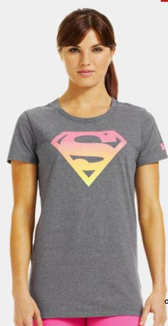 deb6db63ebcdf Women s Under Armour® Alter Ego Ombre Supergirl Semi-Fitted T-Shirt