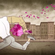 The Flower Thief by Koren Shadmi