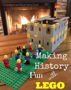 It's no secret how much we enjoy learning with LEGO in our homeschool. I had no doubt we would be able to incorporate LEGO Learning with our Classical Conversations homeschool work. Lego Activities, History Activities, Teaching History, History Education, Educational Activities, Homeschool, Curriculum, Lego For Kids, Funny Stories