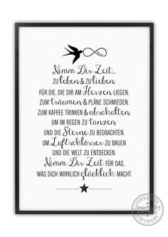 Wenn Du lieber DI… The indicated price Euro) is for a DIN size. If you prefer DIN (for euros), please enter this simply when you order in the comments box. Kids Room Paint, A4 Size, Just Married, Painting Inspiration, Hand Lettering, Euro, Motivation, Sayings, Words