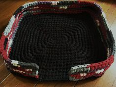 Crocheted Dog Bed