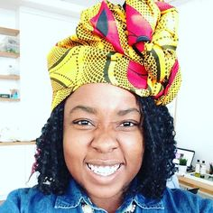 """Top 100 natural hairstyles photos #itsawrap headwrap workshop by @londonivyproducts ! I'm so happy with the wrap I got and the styling! It was such an amazing event! Anybody who wants a wrap or natural hair and body products should check them at! Use code """"Tana"""" at the checkout for 10% off! • • • #Ankara #londonivyproducts #headwrap #africanprint #africanprints #headwraps #ankarafashion..."""