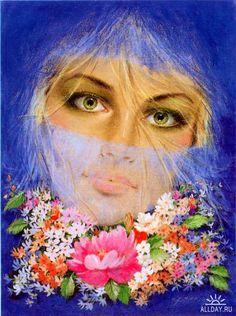 Изображение людей на картинах художников