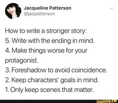 How to write a stronger story Tips to write a stronger story.You can find Writing inspiration and more on our website.How to write a stronger story Tips to write a stronger story. Book Writing Tips, Creative Writing Prompts, Writing Words, Writing Resources, Writing Help, Writing Skills, Writing Ideas, Creative Writing Inspiration, Writer Tips