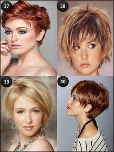 cute Short hairstyles for oval faces 2014