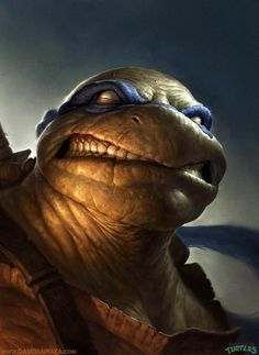 TMNT – TEENAGE MUTANT NINJA TURTLES AS YOU'VE NEVER SEEN, BY DAVE RAPOZA
