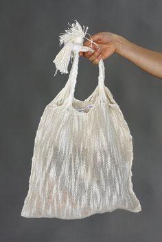 Marta Buda Hand Woven Natural Bag