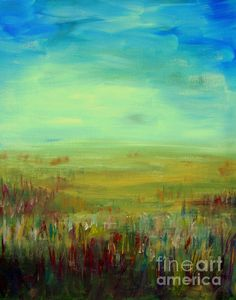Landscape Abstract by Julie Lueders