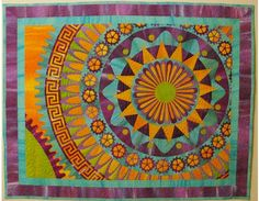 Free Quilt Pattern - Steampunk Sublime Quilt The blank design is also useful as a coloring page. :) What a neat pattern!