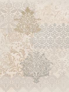 Khaki and Grey Vintage Motif Pattern от LovingkindnessGifts