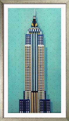 Empire State Building von Gerhard Hofmann