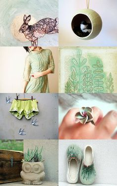 Woodland Spring by Pegg on Etsy--Pinned with TreasuryPin.com