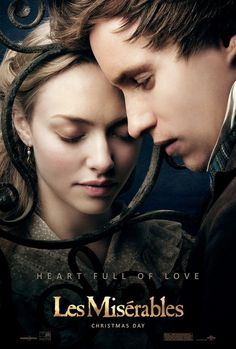 Cosette and Marius 2012 played by Amanda Seyfried and Eddie Redmayne