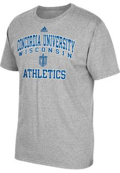 Product: Adidas Concordia University Wisconsin Falcons Athletics T-Shirt $14.95