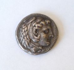 AUTHENTIC Alexander the Great Silver Drachma by infinitetreasures4, 450.00