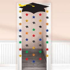 Large Graduation Party Door Curtain Decoration Graduation Party Supplies