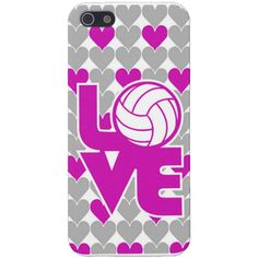 iPhone 5 Case - Love Volleyball