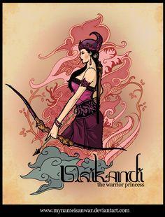 srikandi the warrior princess by mynameisanwar