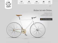 Bicycles in Web Design
