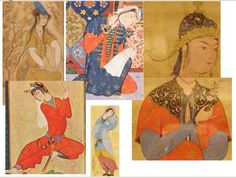 Image result for 15th century persian clothing
