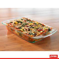 Una Lasagna siempre será una excelente opción para variar el menú de fin de semana. Pyrex te ayuda a consentir a tu familia.
