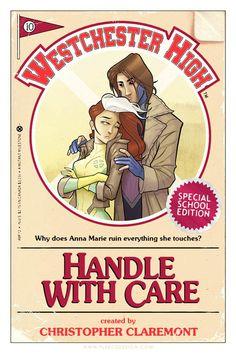Super Heroines Books  by Tony Fleecs