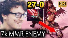 Miracle- 7k Enemies just Look Like Creeps for him [Queen of Pain] Dota 2