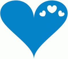 Silhouette Design Store - View Design #37835: hearts in heart