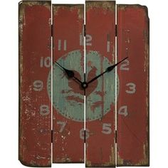 Pallet clock?