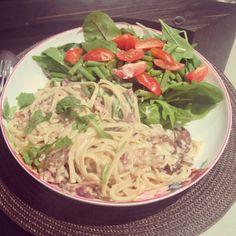 Syn free slimming world Spaghetti Carbonara
