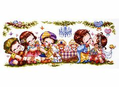 """""""Wedding"""" counted cross stitch pattern Leaflet. W 298count × H 105count"""