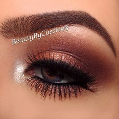 Close up of my previous look using the @toofaced Chocolate - beautybycassie93 @ Instagram Web Interface - 5th village