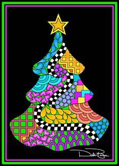 """Christmas Twist Tree"" by Debi Payne Designs"