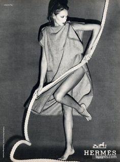 Hermès (Couture) 1978 Jacques Peg Fashion Photography
