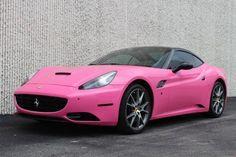These come in pink? 2010 #Ferrari #California #Convertible #HappyMonday