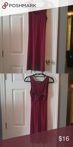 Cranberry Dress Never Worn Charlotte Russe Dresses Backless