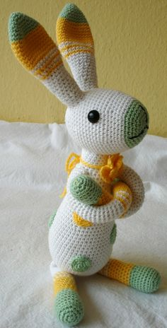 Mesmerizing Crochet an Amigurumi Rabbit Ideas. Lovely Crochet an Amigurumi Rabbit Ideas. Crochet Rabbit, Crochet Bunny, Love Crochet, Crochet Animals, Crochet Dolls, Knit Crochet, Crochet Designs, Crochet Patterns, Tier Zoo