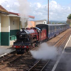 Hercules back at home on the Romney, Hythe Dymchurch Railway