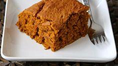 Vegan Pumpkin Pie Blondies