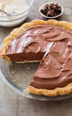 Once an award-winning recipe, this no-bake pie has an… French Silk Chocolate Pie. Once an award-winning recipe, this no-bake pie has an incredible light and fluffy texture-but we wanted to amplify the chocolate flavor. Chocolate Silk Pie, Chocolate Pie Recipes, Chocolate Desserts, Easy Chocolate Pie, Chocolate Mousse Pie, Chocolate Chocolate, Chocolate Pie Crust, No Bake Desserts, Easy Desserts