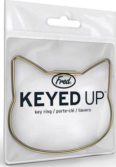 Fred Homewares - Cat Keyed Up Key Ring