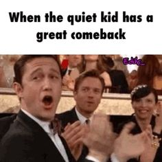 #quiet, #kid, #great, #comeback