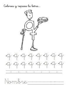 """Reconozco que este libro de """"El libro de las letras"""" o """"Letrilandia"""" ha causado sensación en mi casa, actualmente al residir en China mis h... Teacher, Education, Math Equations, Words, Montessori, Alphabet, Uppercase And Lowercase Letters, Preschool Worksheets, Preschool Reading Activities"""