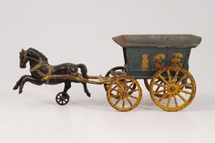 Hubley Cast Iron Horse Drawn Ice Wagon : Lot 740