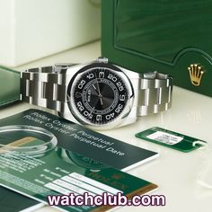 """Rolex Oyster Perpetual 36mm - """"Box & Papers"""" REF: 116000 