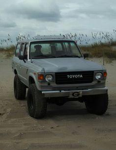 Toyota Lc, Toyota Trucks, Toyota Cruiser, Fj Cruiser, Vintage Trucks, Old Trucks, Cars Land, Land Rover Defender, Custom Cars