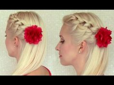 Knotted_headband_braid_half_updo_Prom_party_hairstyle_for_medium_long_hair_tutorial_Wedding_down_do.jpg (1220×915)